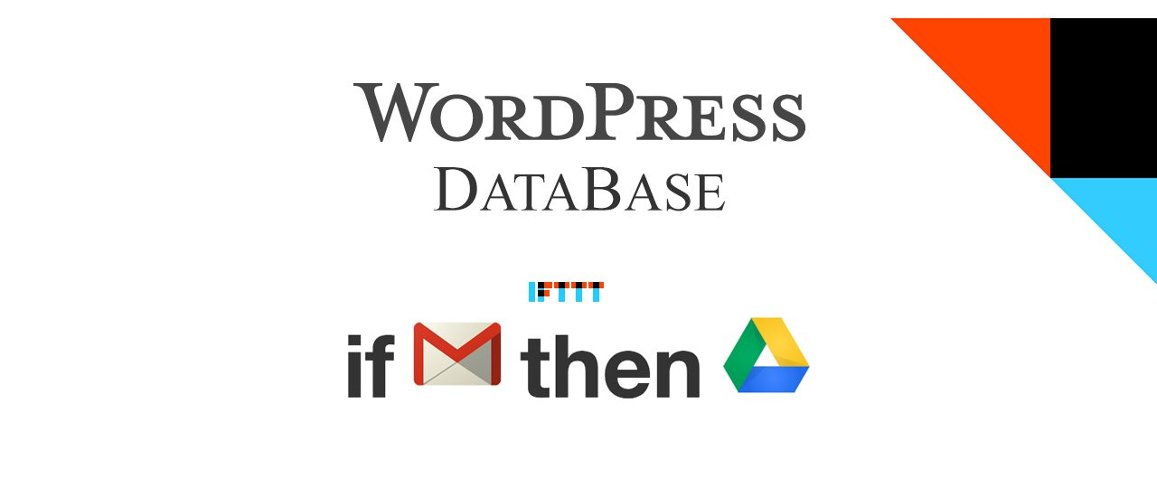 Backup The WordPress DB To Google Drive For Free
