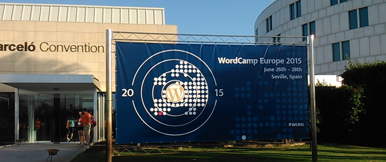 My first WordCamp – Why I loved WordCamp Europe 2015 and why you should attend one too