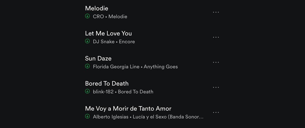 Spotify Top Tracks 2016