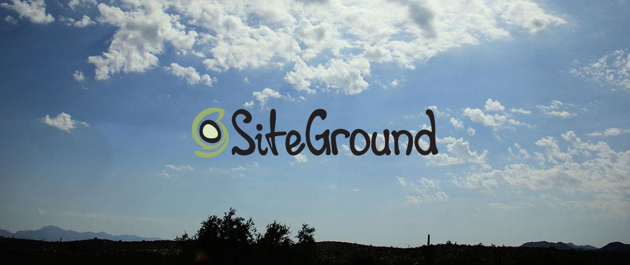 I'm now on SiteGround!