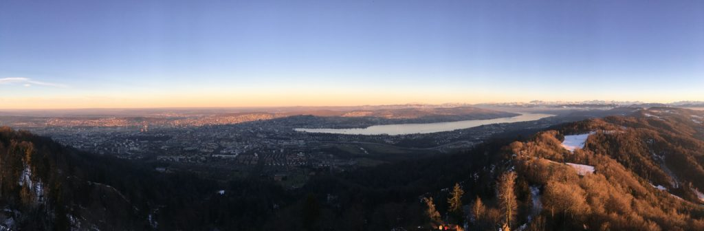 View from Uetliberg (Zurich)